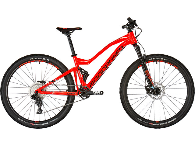Mondraker Factor 24 Børnecykel rød